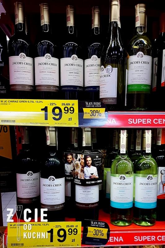 jacobs creek, jacob's creek, mateusz gessler, komercyjne wino, australijskie wino, marketowe wino, zycie od kuchni
