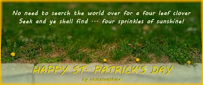 Happy St. Patrick's Day by abitosunshine