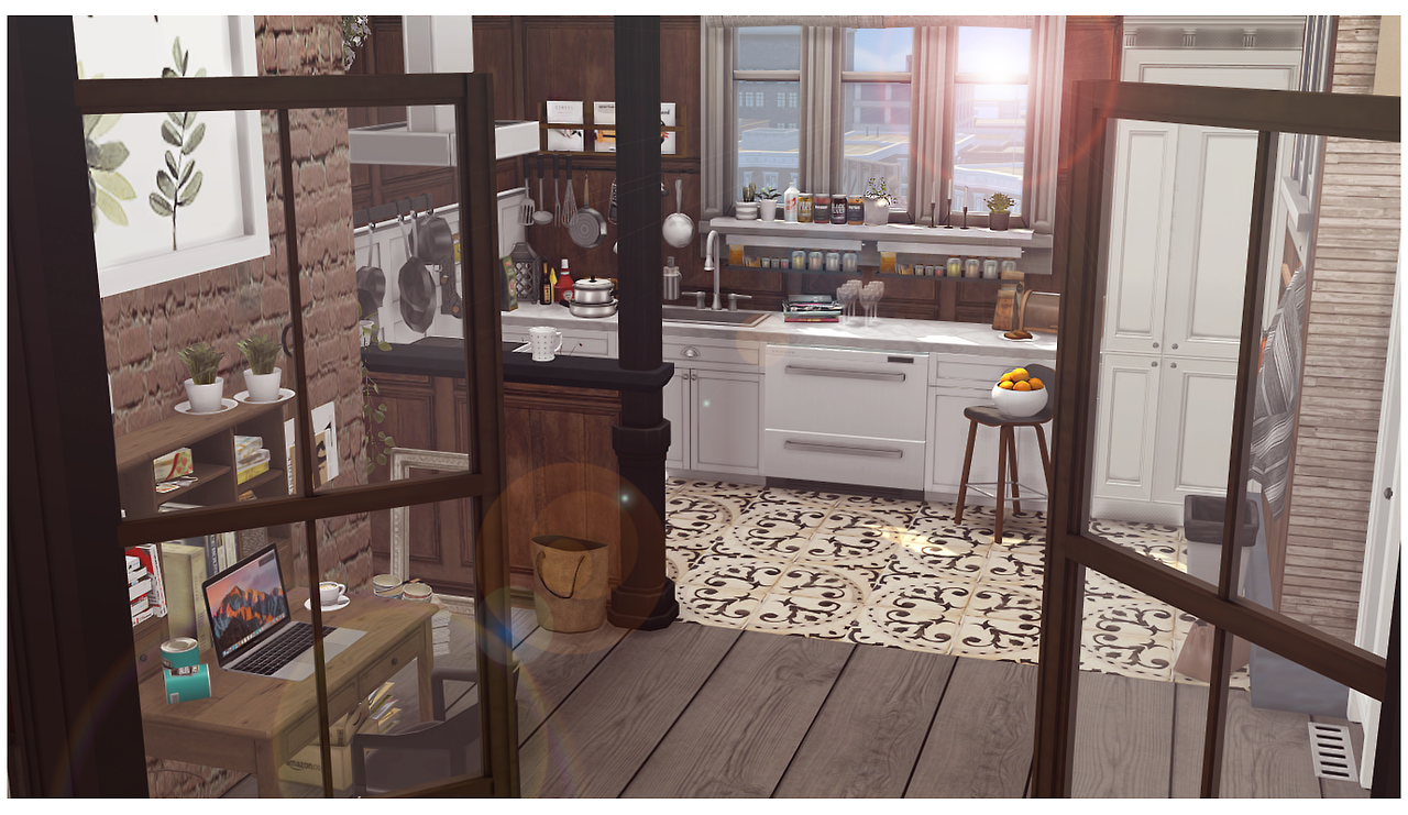 sims 4 cc's - the best: stella apartment by stardust-sims, Badezimmer ideen