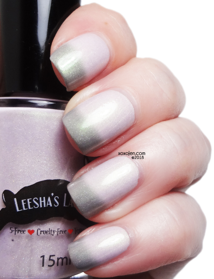 xoxoJen's swatch of Leesha's Lacquer Tourmaline