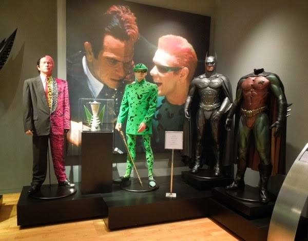 Original 1995 Batman Forever movie costumes