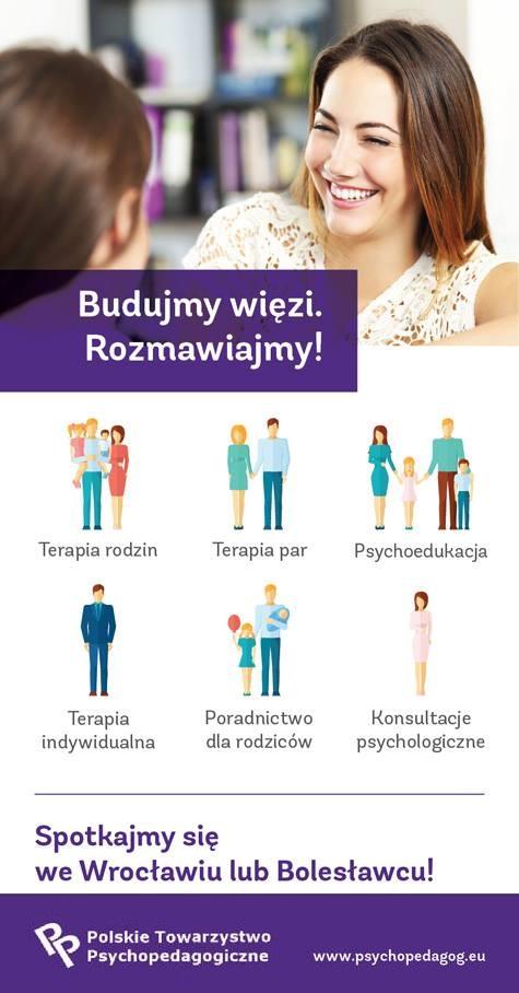 Terapia Bolesławiec Wrocłąw Psychoterapia Terapia Par Rodzin Psychoedukacja