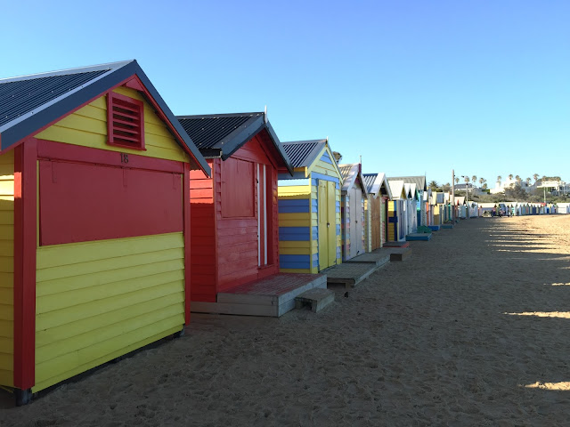 Melbourne - Brighton Beach Bath Houses