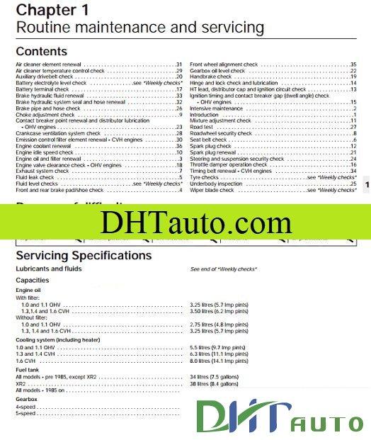 Ford All Model Shop Manual Full