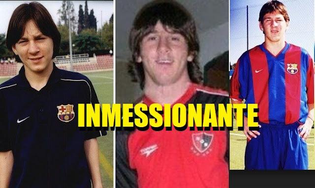 Leo Messi magia pura desde los 15 años