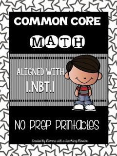 https://www.teacherspayteachers.com/Product/Common-Core-Math-1NBT1-No-Prep-Printables-1670360