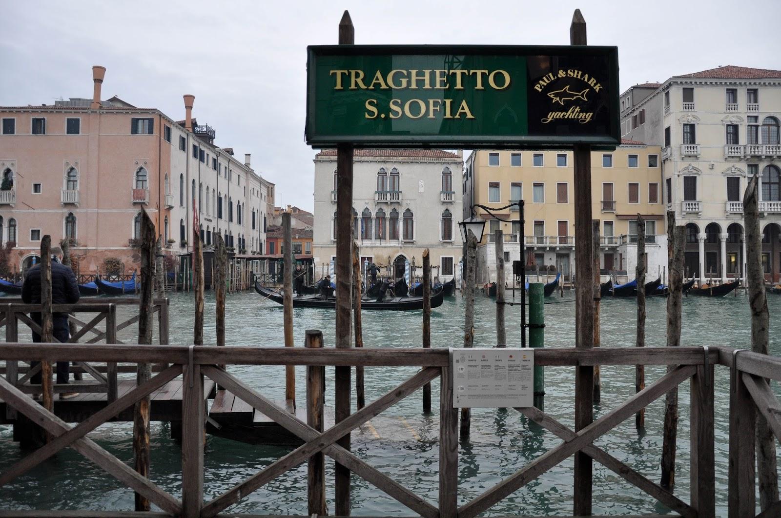Traghetto S. Sofia stop, Venice, Italy