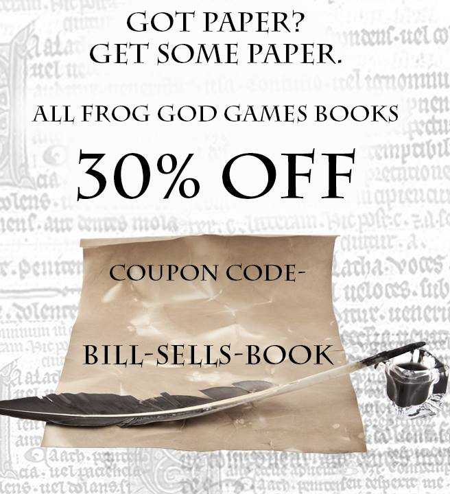 Tenkars tavern 2017 07 16 frog god games books 30 off in print with coupon fandeluxe Choice Image