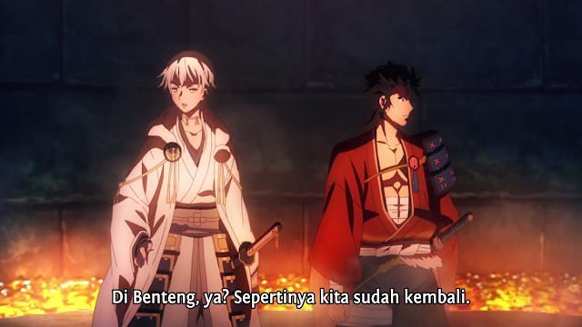 Katsugeki Touken Ranbu Episode 06 Subtitle Indonesia
