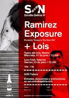 Conciertos de Ramirez Exposure y Lois en Madrid y Valencia