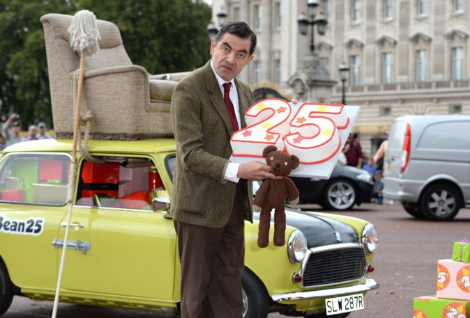 Mr Bean: of 25 years of humour celebrated in London!