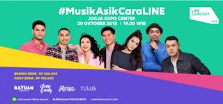 Cari tiket event line concert di jogja expo center jogjakarta
