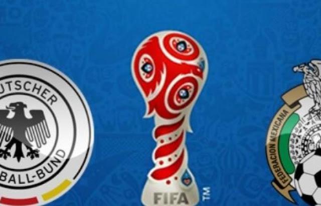 نتيجة مباراة المانيا والمكسيك