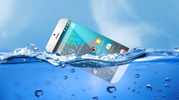 Comet Smartphone: Smartphone which can swim with you