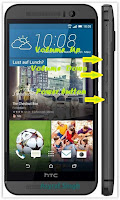 Hard Reset Android HTC One M9