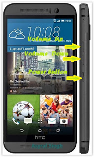 m9 Guide To Perform Hard Reset Android HTC One M9 Root