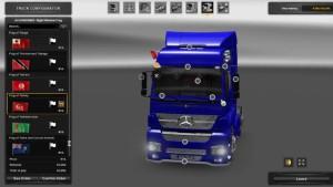 Mercedes Axor truck mod 1.26 v1