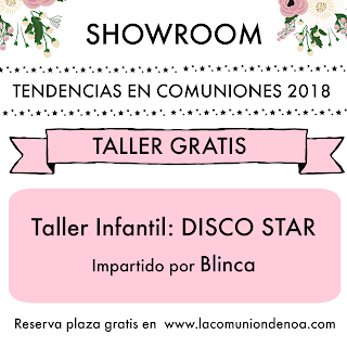 showroom tendencias comuniones 2018 asturias la comunion de noa
