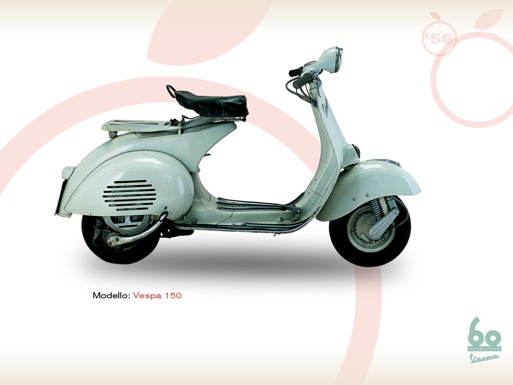vespa 150 1956 vespa scooters. Black Bedroom Furniture Sets. Home Design Ideas