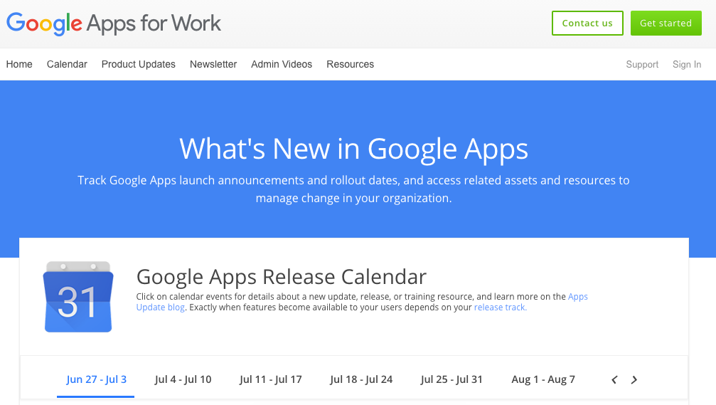 Whats New On Calendar >> G Suite Updates Blog New And Improved What S New In Google Apps Site