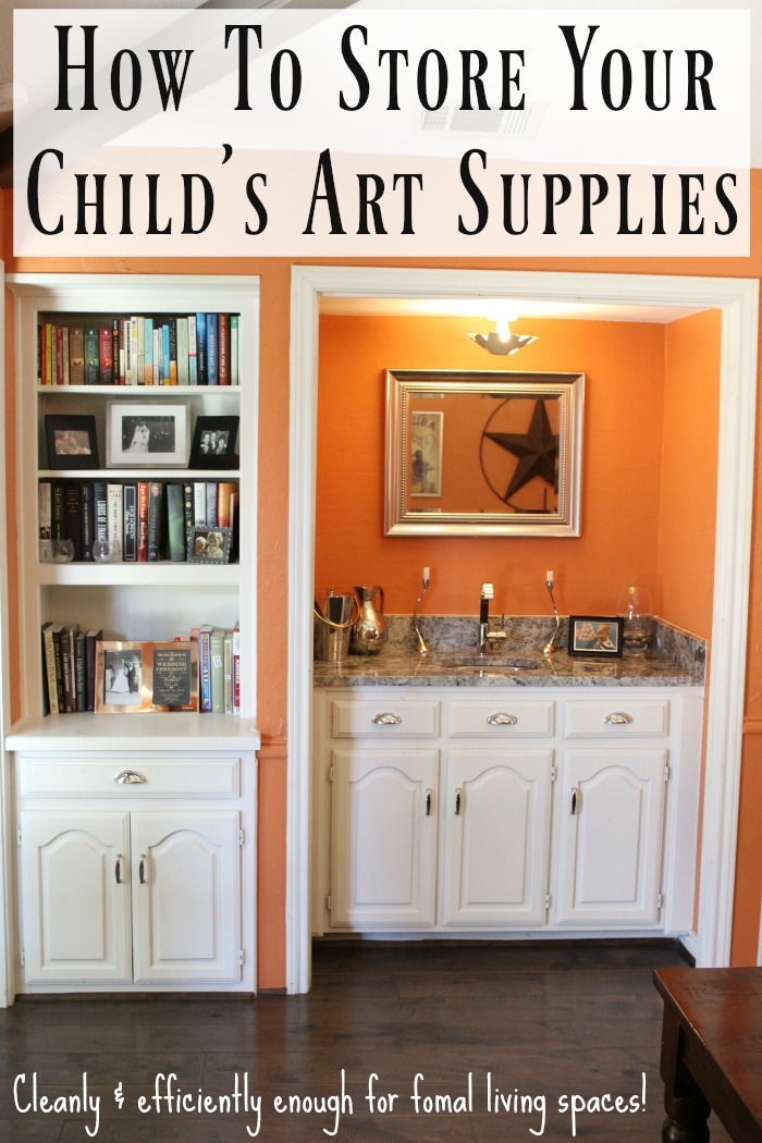 Storage solutions for art and craft supplies