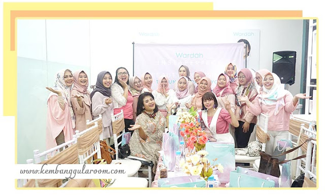 blogger gathering wardah