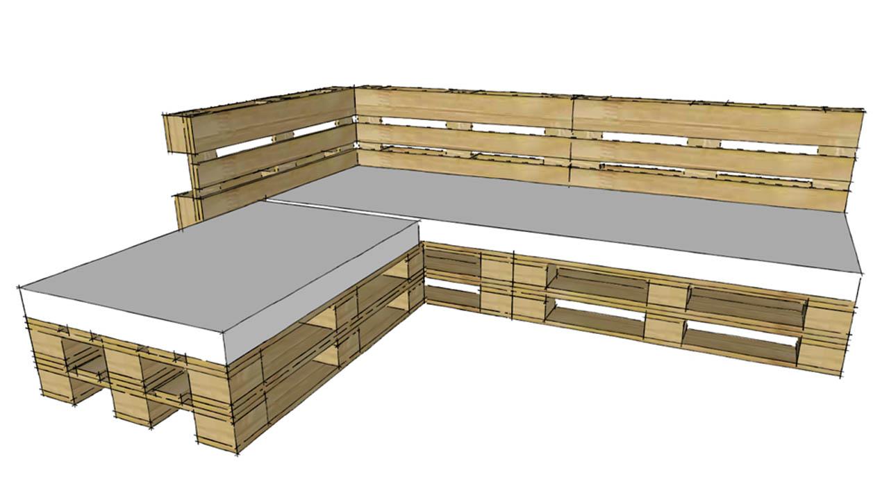 Progettare Con I Pallet Come Costruire Un Divano Con I Pallet
