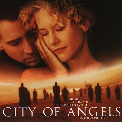 City of Angels CD Cover with Meg Ryan and Nicolas Cage