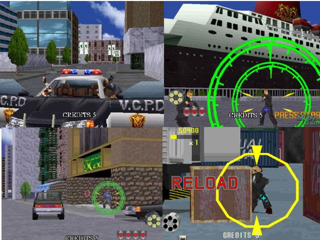 Virtua Cop 2 Game 2