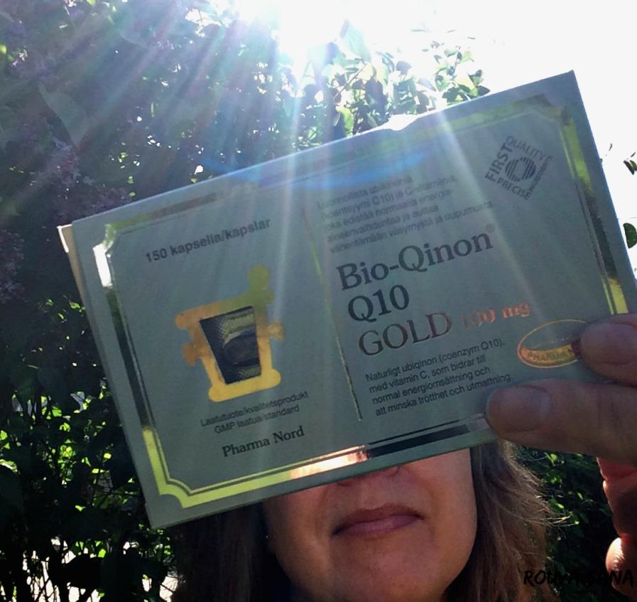 Migreeni, Bio-Qinon Q10, Rouva Sana, ubikinoni