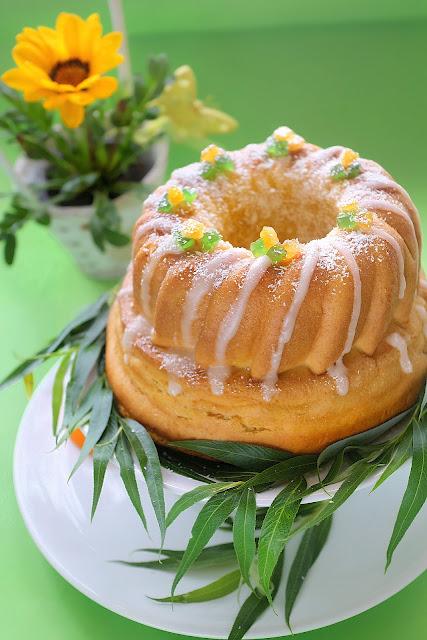 Постна морковена бабка с портокалов аромат