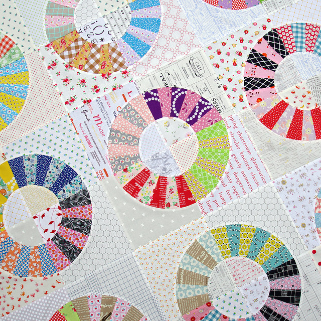 Red Pepper Quilts Color Wheel Block Quilt Ii A Variation