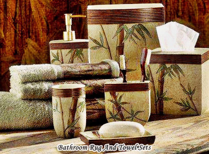 Bathroom Rug And Towel Sets