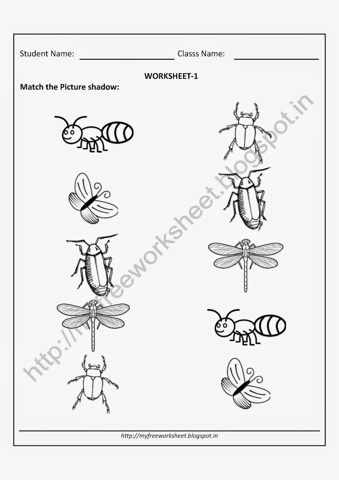 PDF file Free Printable Worksheets for Nursery, Kindergarten ...