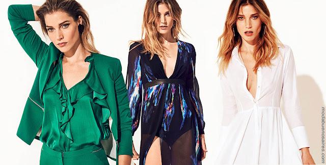 Looks tendencia primavera verano 2018 Markova | Moda 2018: Moda primavera verano 2018.