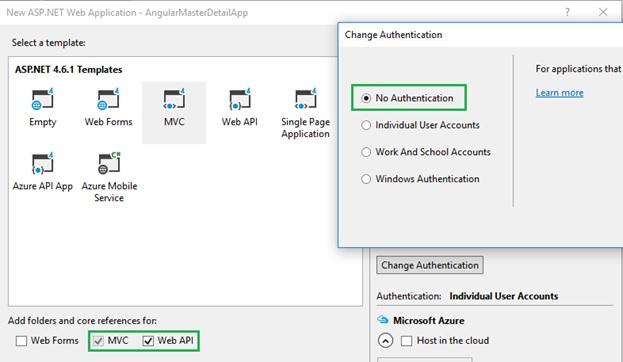 Angular Master Detail CRUD Operations Asp Net MVC |  net
