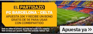 betfair promocion Barcelona vs Celta 22 diciembre