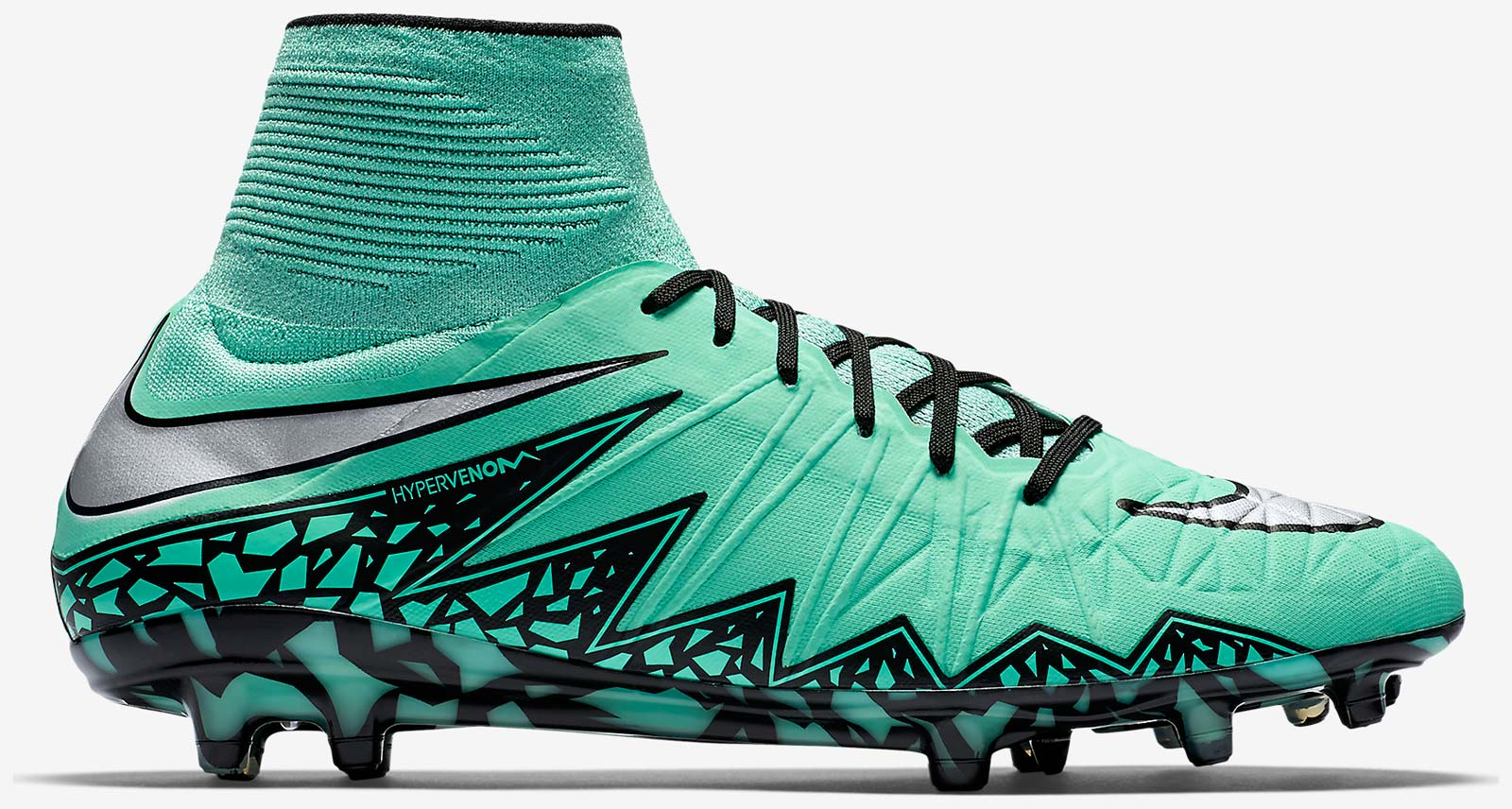 Nike Hypervenom Phantom III DF AG - Electric Green/Black/Hyper Orange/Volt