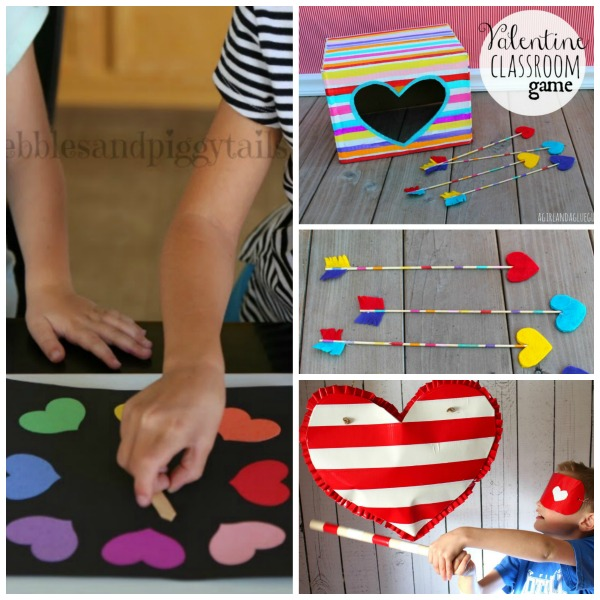 25 VALENTINE'S GAMES for kids that they will love!  So many fun ideas!