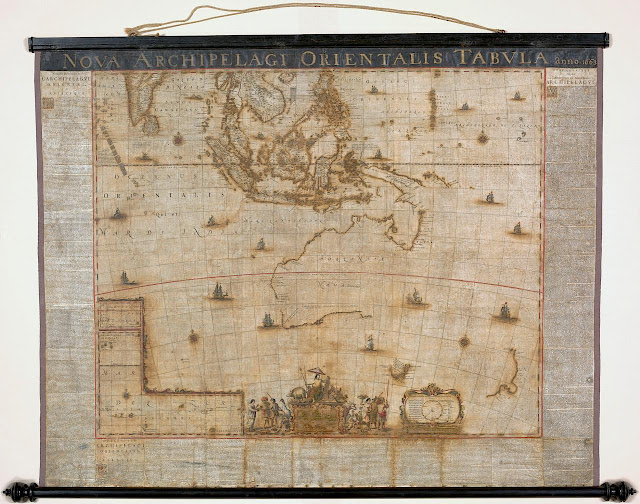 Australia can breathe easy after 17th century map restored