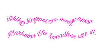 Marhaban Ya Ramadhan!