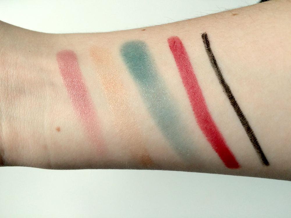 Lord&Berry Makeup Swatches