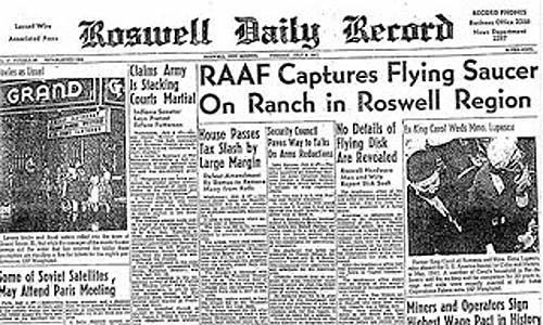 Incidente ovni de Roswell en 1947