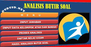 Aplikasi Analisis Soal Kurikulum 2013 untuk SD,SMP,SMA dan SMK