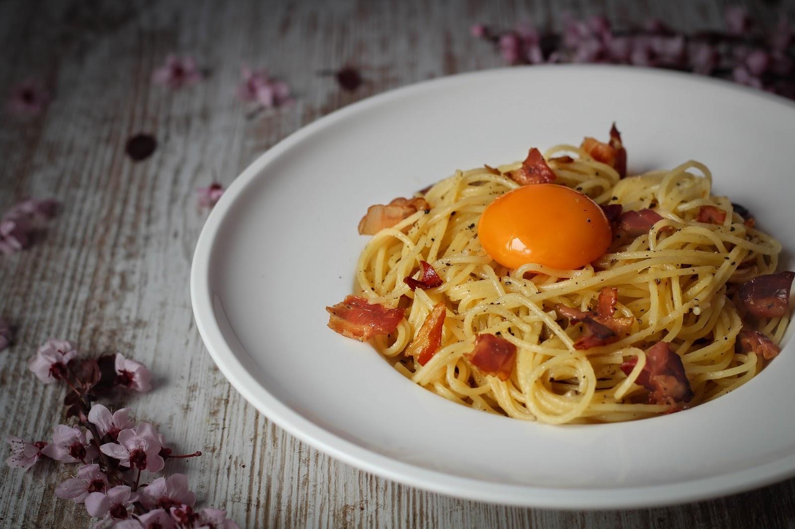 Dulce muffin espaguetis a la carbonara for Espaguetis para dos