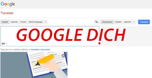 3 từ được Google Dịch nhiều nhất thể giới hiện nay