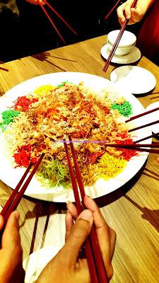Yee Sang Chinese New Year Kuala Lumpur