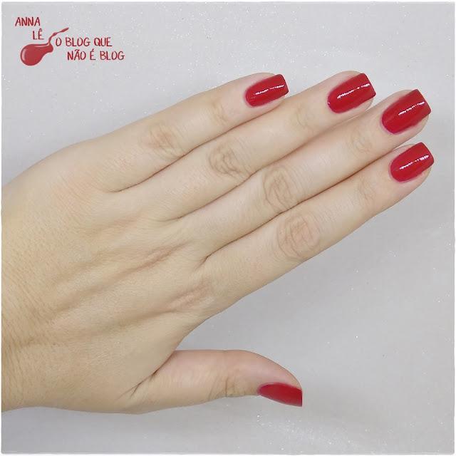 Sexy Ana Hickmann Esmalte Nailpolish Vermelho Red