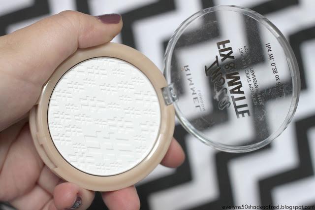 Rimmel, Insta Fix&Matte puder #001 Transparent