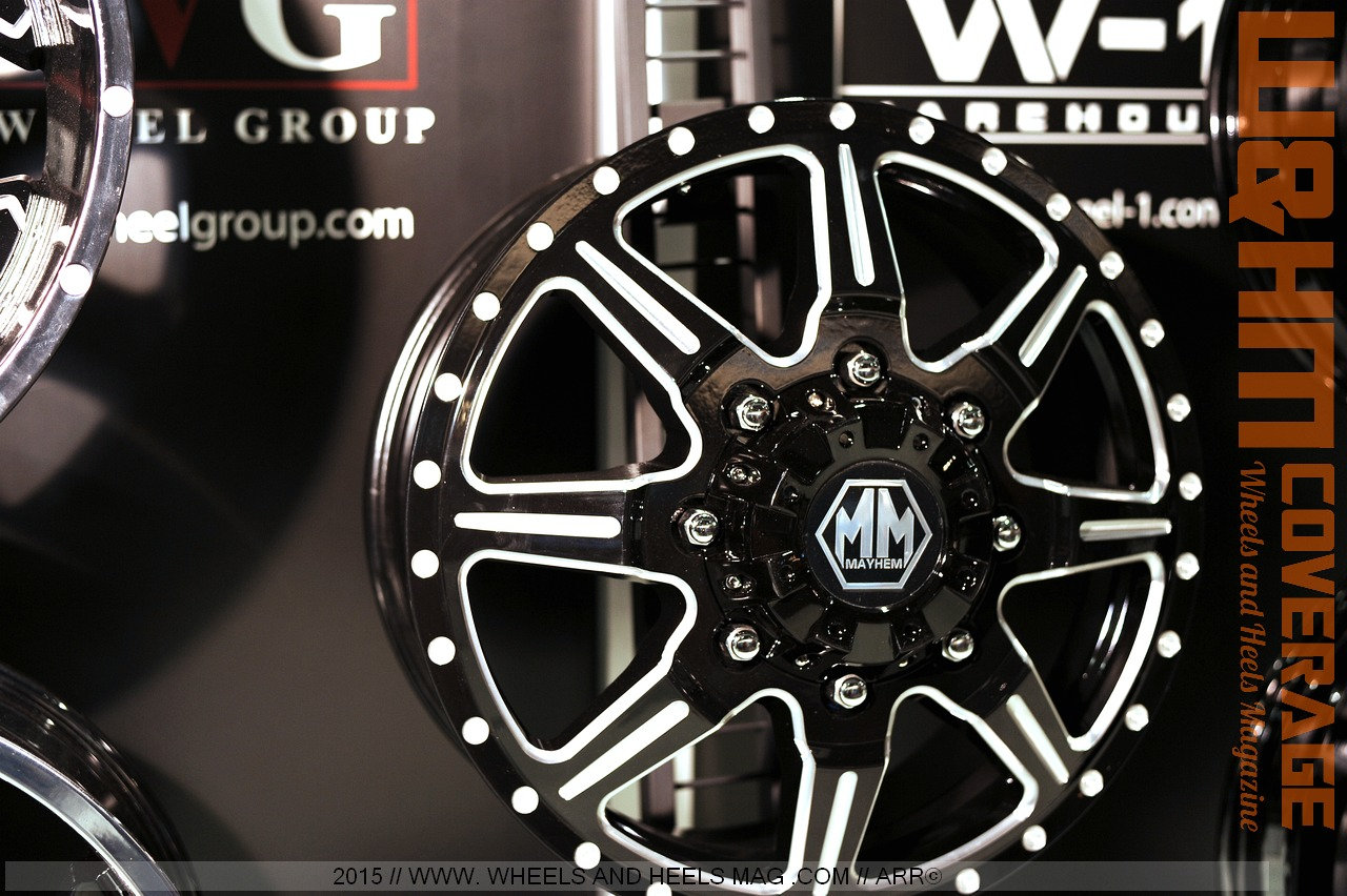 Wheels and Heels Magazine Cars: SEMA 2015 Wheels Coverage: The Wheel ...